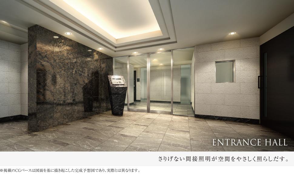 entrance hall クレアスライフの投資向けマンション コンシェリア
